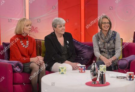Carol Hoy, Pat Payne, Alison Rushgrove