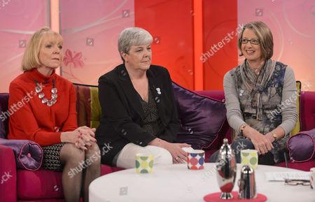 Editorial photo of 'Lorraine Live' TV Programme, London, Britain - 17 Apr 2012