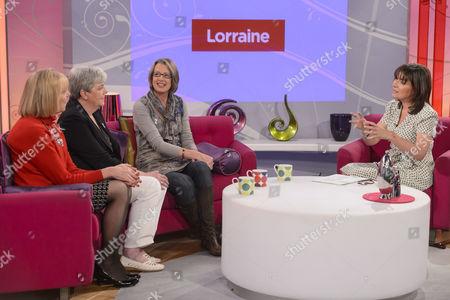 Editorial picture of 'Lorraine Live' TV Programme, London, Britain - 17 Apr 2012