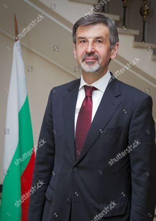 Editorial picture of Bulgarian Ambassador, London, Britain - 11 Apr 2012