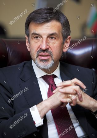 Stock Photo of Bulgarian Ambassador, Konstantin Dimitrov