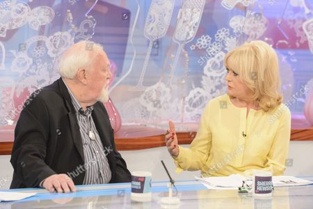 Joss Ackland and Sherrie Hewson