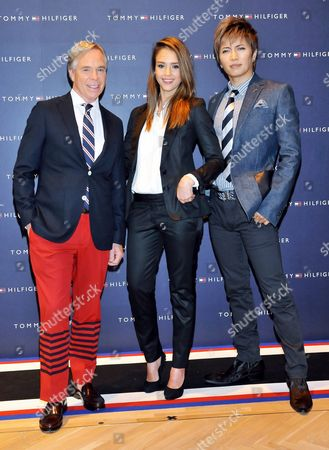 Editorial image of Jessica Alba at the opening of the Tommy Hilfiger Flagship Store in Tokyo, Japan - 16 Apr 2012