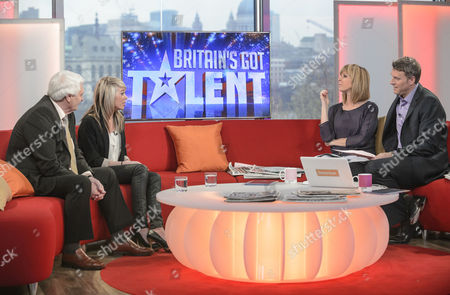 Stock Picture of John Brown and Paige Turley with Kate Garraway and Dan Lobb