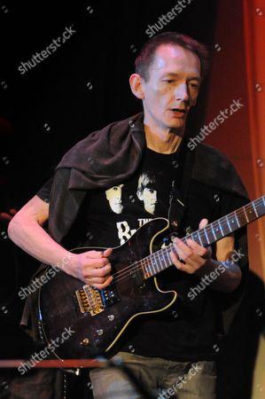 Stock Picture of Ex Clash Guitarist Keith Levene