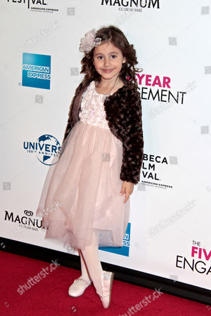 Editorial picture of 'The Five-Year Engagement' film premiere at the Tribeca Film Festival, New York, America - 18 Apr 2012