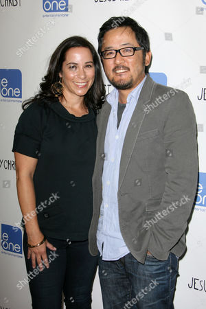 Stock Photo of Dennis Lee and guest