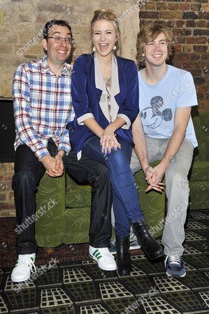 Elliot Davis, Eliza Hope Bennett and James Bourne