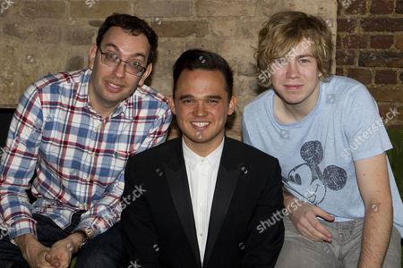Elliot Davis (Author), Gareth Gates (Eddie) and James Bourne (Author)