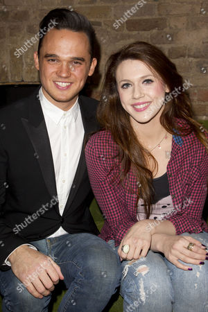 Gareth Gates (Eddie) and Charlotte Harwood (Leia)