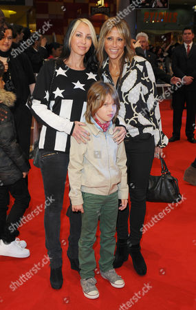 Nicole Appleton and Natalie Appleton and Ace Howlett