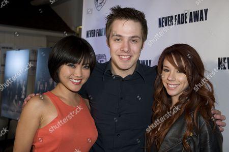Jessica Lu, Matthew Fahey and Jillian Rose Reed