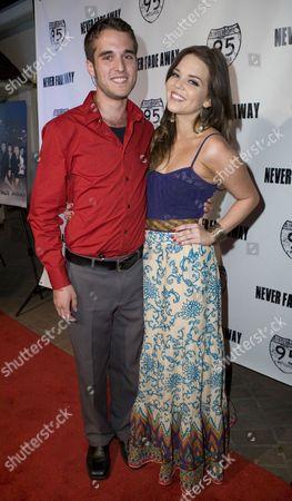 Stock Image of Daniel Samonas and Katie Wallace