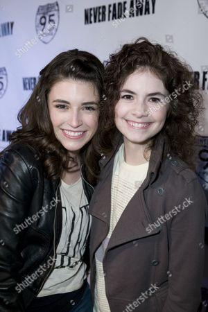 Stock Picture of Daniela Bobadilla and Katlin Mastandrea