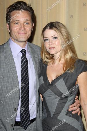 Seamus Dever and wife Juliana