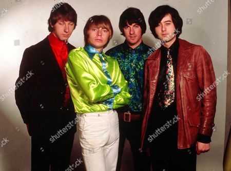 The Yardbirds - Chris Dreja, Keith Relf, Jim McCarty and Jimmy Page - 1966