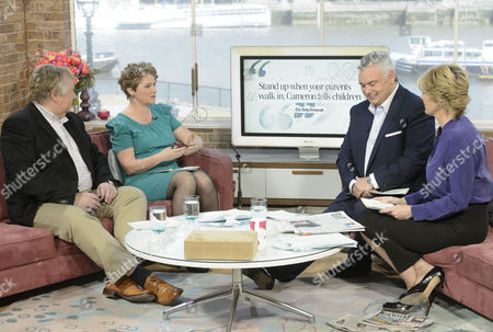 Nick Ferrari and Jo Bunting with Eamonn Holmes and Ruth Langsford.