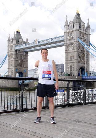 Editorial photo of Virgin London Marathon runners photocall, London, Britain - 20 Apr 2012