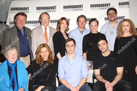 Larry Bryggman, Charles Kimbrough, Holley Fain, Peter Benson, Tracee Chimo, Rich Sommer, Carol Kane, Angela Paton, Jessica Hecht, Jim Parsons and Morgan Spector