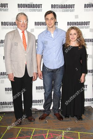 Charles Kimbrough, Jim Parsons and Carol Kane