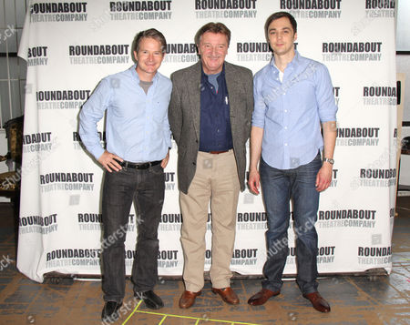 Stock Image of Peter Benson, Larry Bryggman and Jim Parsons