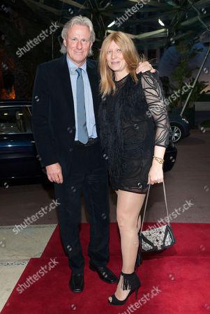 Bjorn Borg and his wife Patricia Ostfeldt