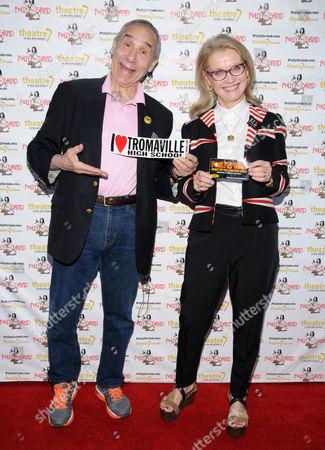 Lloyd Kaufman and Pat Kaufman, Film Commissioner of New York State