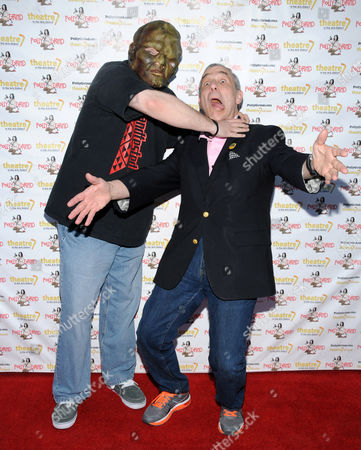 Stock Image of The Toxic Avenger and Lloyd Kaufman