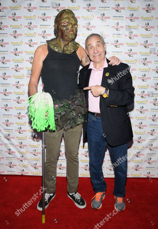 The Toxic Avenger and Lloyd Kaufman