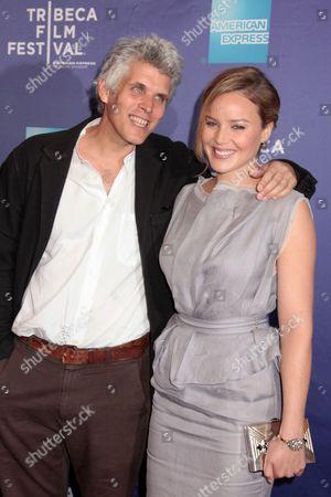 Stock Image of David Riker and Abbie Cornish