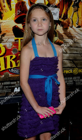Editorial image of 'The Pirates! Band Of Misfits' Film Premiere, New York, America - 22 Apr 2012