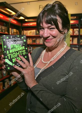 Editorial photo of 'A Midsummer Tights Dream' Louise Rennison book promotion, Waterstones, Oxford, Britain - 21 Apr 2012