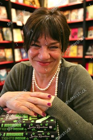 Editorial picture of 'A Midsummer Tights Dream' Louise Rennison book promotion, Waterstones, Oxford, Britain - 21 Apr 2012