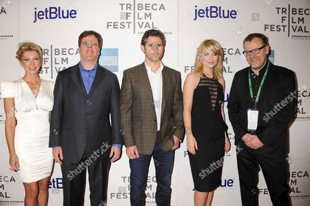 Cara Wagner Carrilho, Todd Wagner Carrilho, Eric Bana, Olivia Wilde and Director Stefan Ruzowitzky
