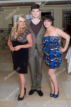Letitia Dean, James Alexandrou and Natalie Cassidy