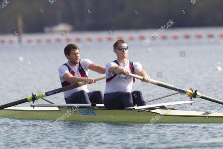 Men's Pair boat 2, Daniel Ritchie and Cameron Nichol