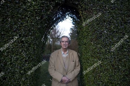 Editorial picture of Lord Denis Healey at home in Alfriston, East Sussex, Britain - 23 Apr 2012