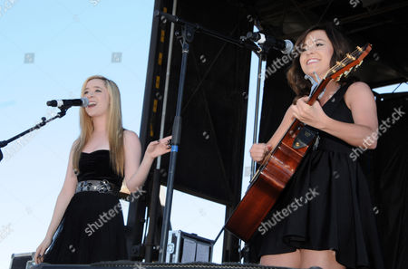 Elizabeth Morgan Mace and Megan McKinley Mace aka Megan & Liz