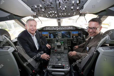 Editorial photo of Boeing and suppliers welcome 787 Dream Tour to the United Kingdom, Heathrow Airport, London, Britain - 23 Apr 2012
