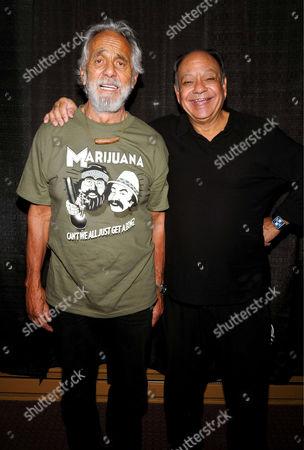 Tommy Chong and Richard ' Cheech Marin