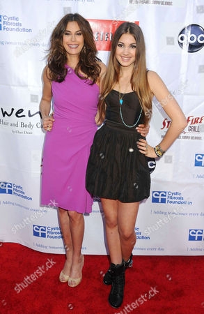 Teri Hatcher and Emerson Rose Tenney