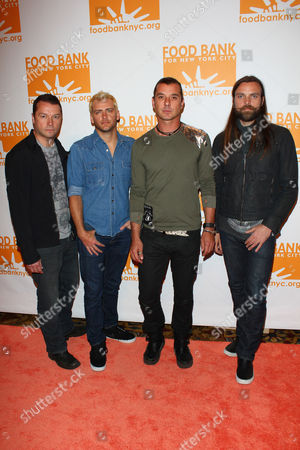 Robin Goodridge, Corey Britz, Gavin Rossdale and Chris Trayno