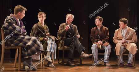 Bradley Hall as Colin Jenkins, Alex Lawther as John Blakemore, Nicholas Farrell as Rev Eric Dewley, Tom Spink as Tommy Gunter and Liam Morton as Roger Sprule.