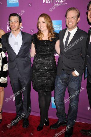 Chris Messina, Jenna Fischer and Lee Kirk