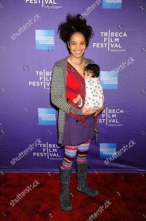 Staceyann Chin and daughter Zuli