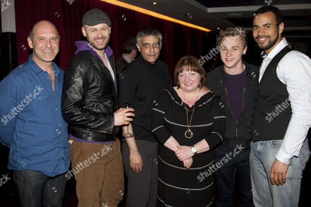 Editorial picture of 'Making Noise Quietly' play Press Night after party at The Hospital Club, London, Britain - 23 Apr 2012