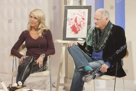 Editorial image of 'This Morning' TV Programme, London, Britain - 24 Apr 2012