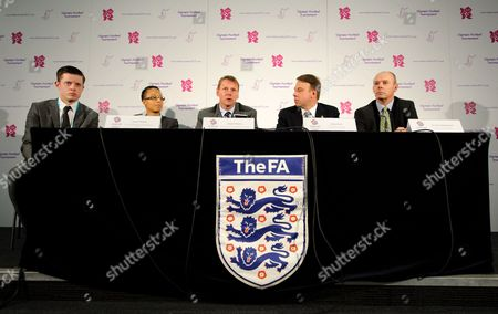 Stuart Pearce, Hope Powell, Andy Hunt and Sir Clive Woodward