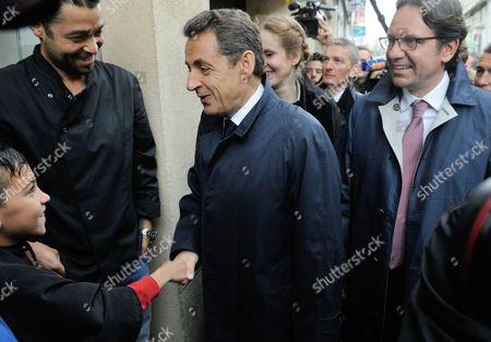 Nicolas Sarkozy, Nathalie Kosciusko-Morizet and Frederic Lefebvre