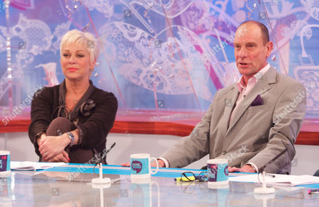 Denise Welch and Philip Martin Brown